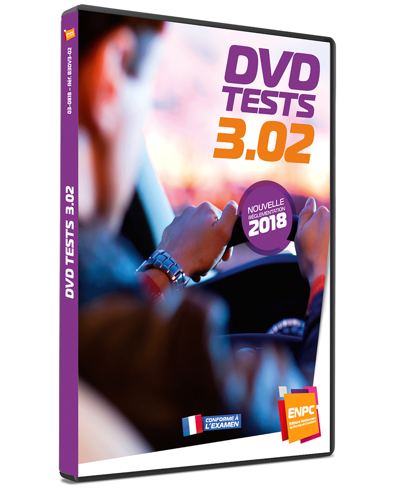 DVD Tests B n°3 02 - Réglementation 2018 | ENPC - Editions
