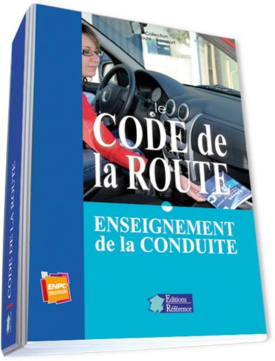 classeur code de la route enseignement de la conduite enpc editions nationales du permis. Black Bedroom Furniture Sets. Home Design Ideas